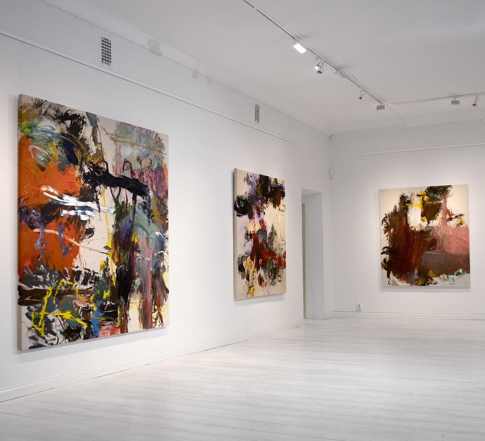 Roy Aurinko's Nostalgia exhibition (12.2.-1.3.2020) at Galleria MABD, Oulu, Finland.