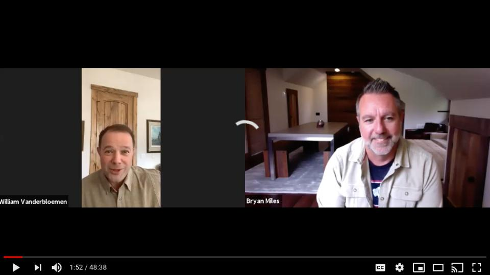 William Vanderbloemen Interviews Bryan Miles