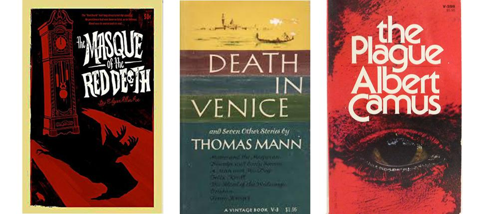 Camus, Poe and Mann are three authors who used Europe as a backdrop for their harrowing tales.