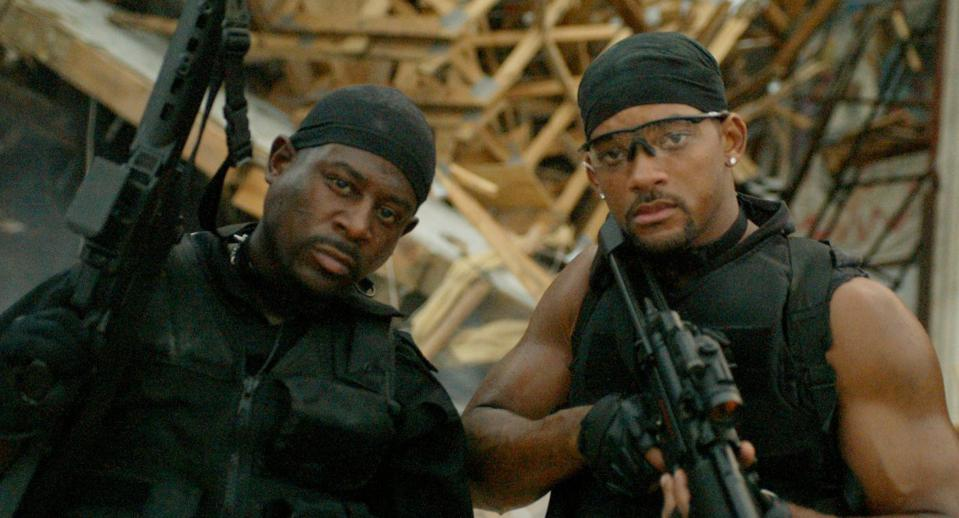 Will Smith and Martin Lawrence star in Bad Boys 2