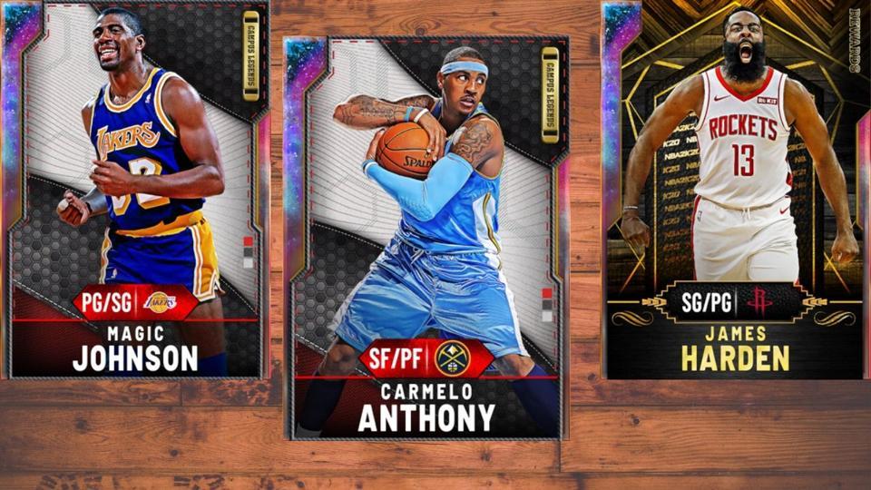 Galaxy Opals in NBA 2K20