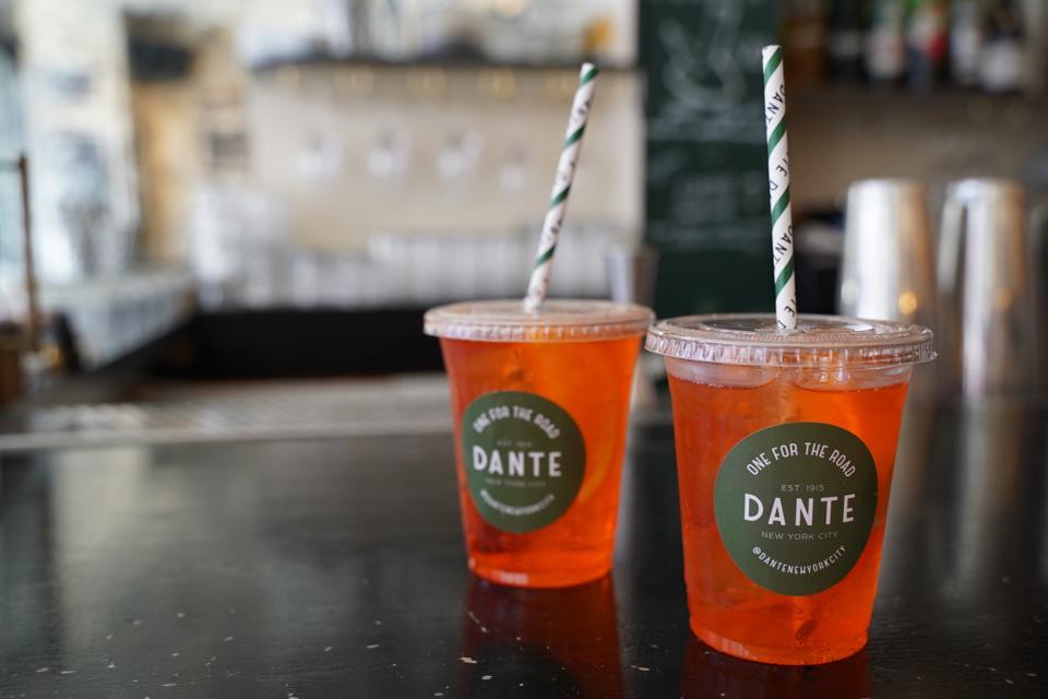 Bars switch to to-go drinks during coronavirus closings.