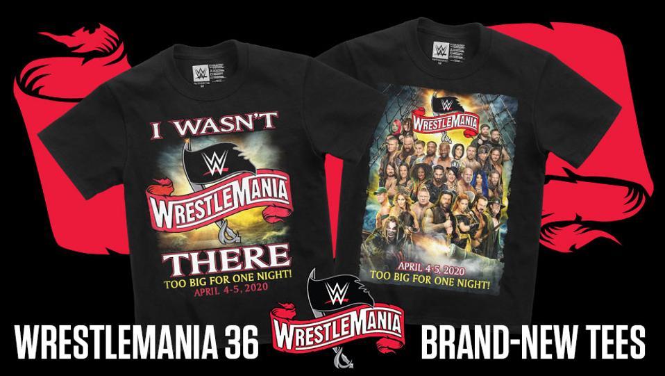 WWE I Wasn't There WrestleMania 36 Coronavirus COVID-19 Performance Center Too Big for One Night