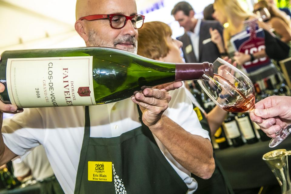Naples Winter Wine Festival auction in Florida, U.S.