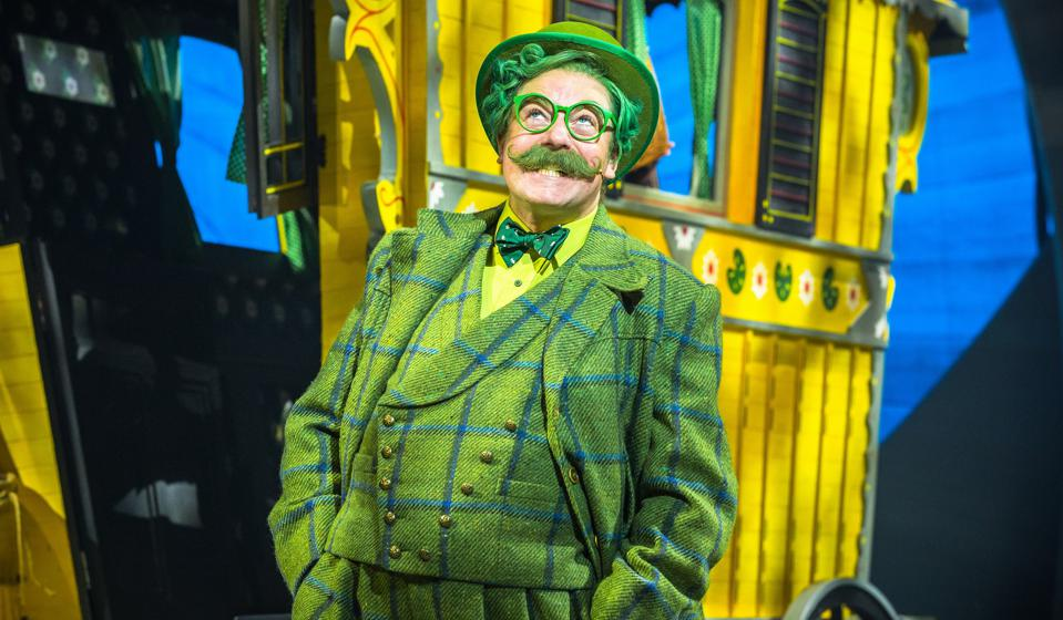 Rufus Hound as Mr Toad in Wind in the Willows