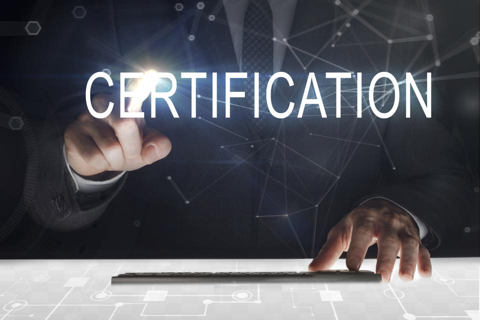 Blockchain can help with Certification of supplies