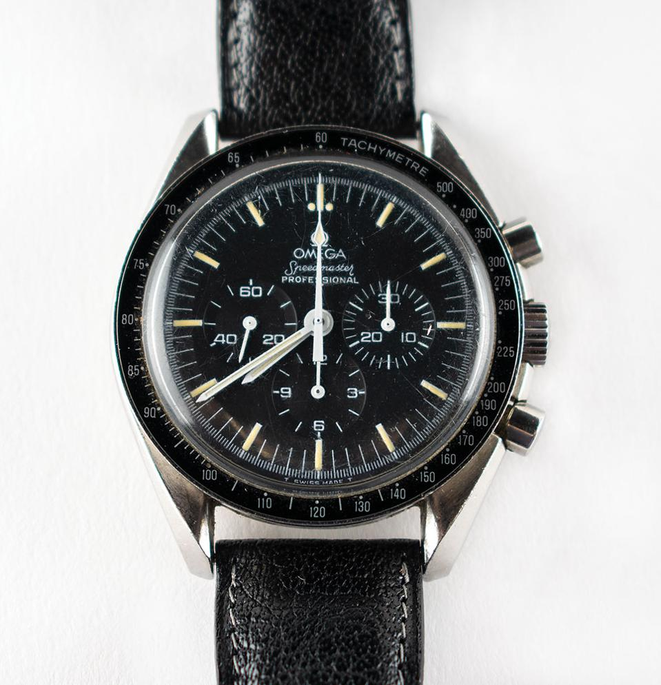 Space-flown Omega Speedmaster Professional.