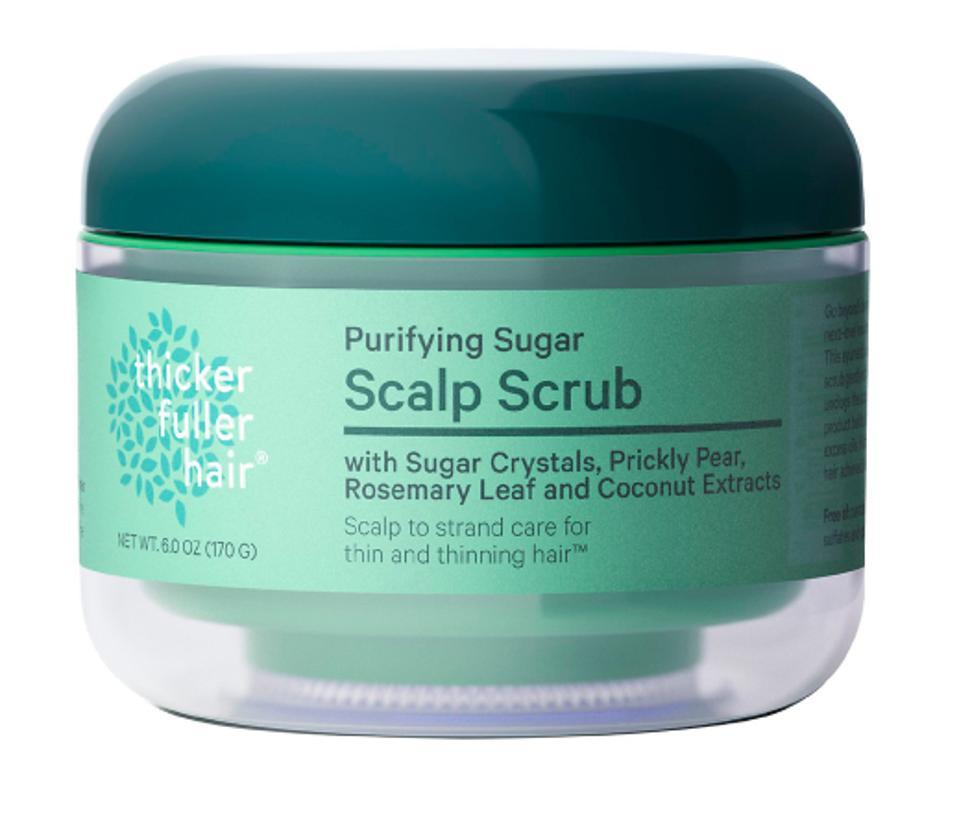Thicker Fuller Hair's Purifying Scalp Scrub