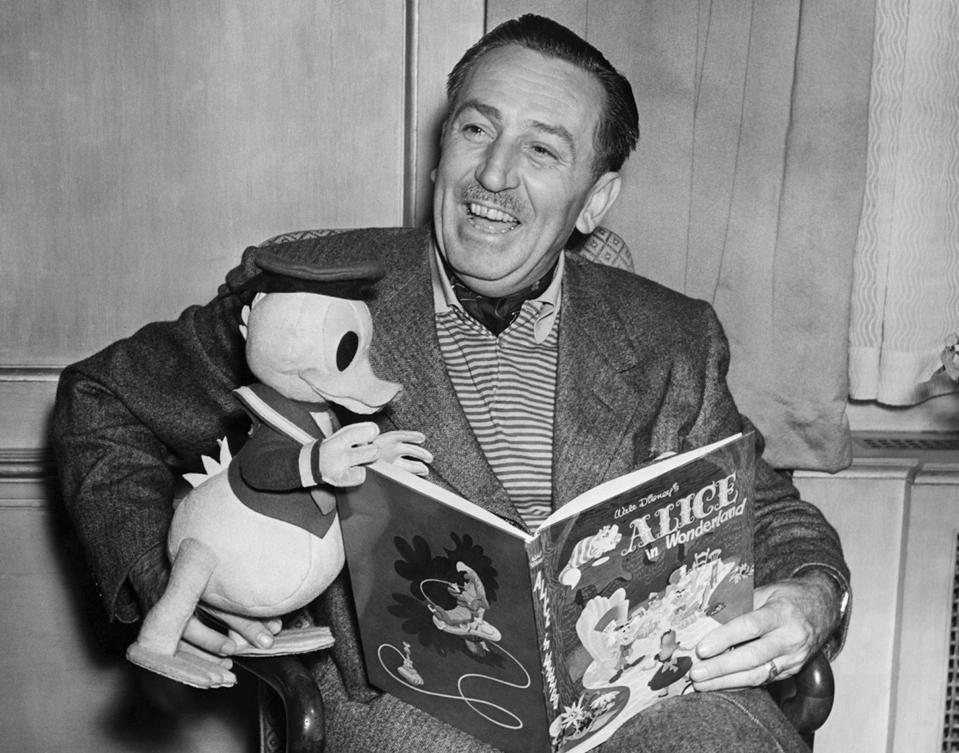 Film Producer Walt Disney, 1951