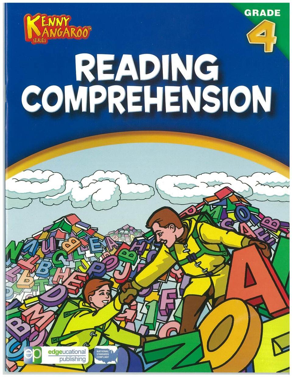 Reading Comprehension By Kenny Kangaroo Series