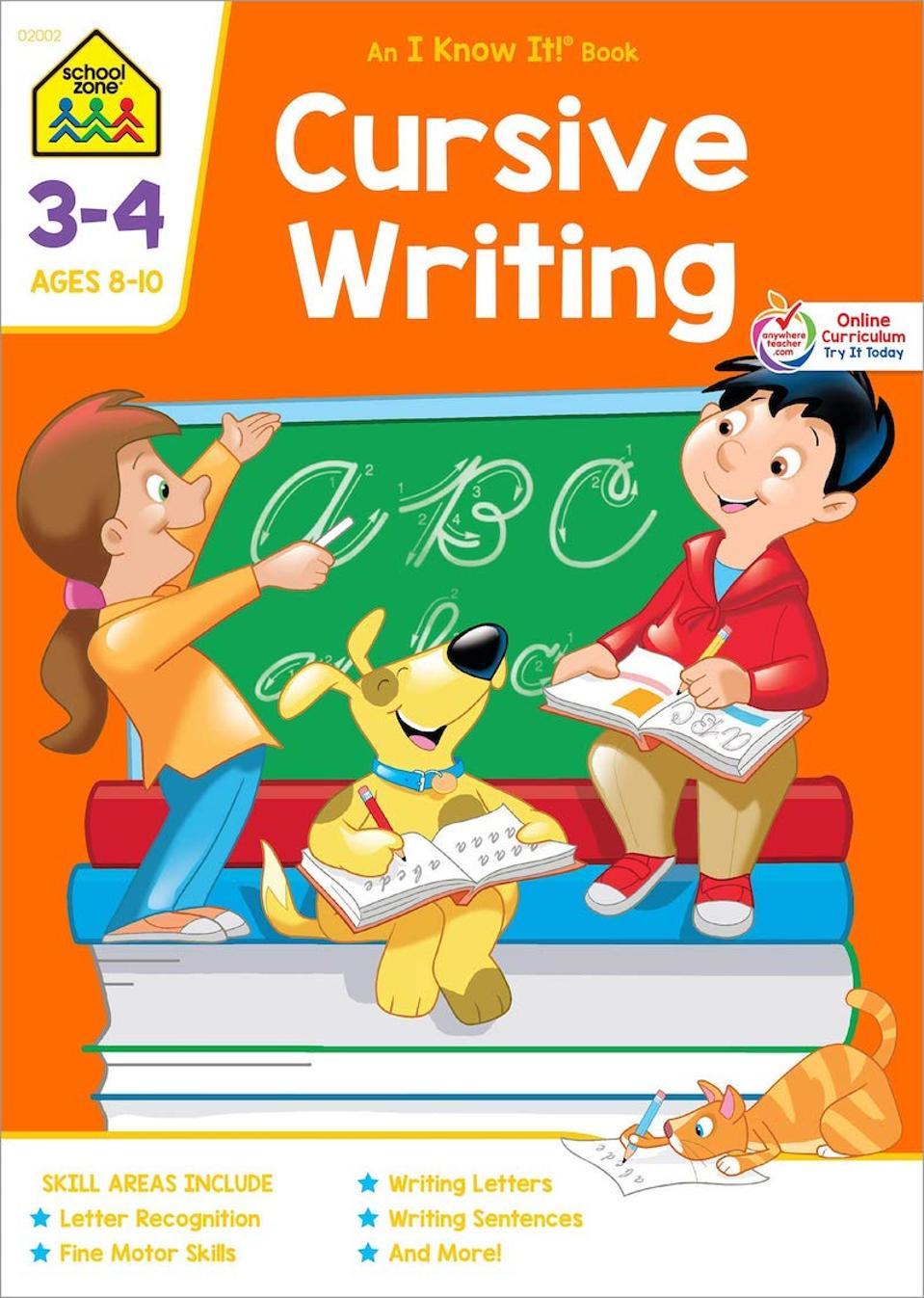 School Zone Cursive Writing