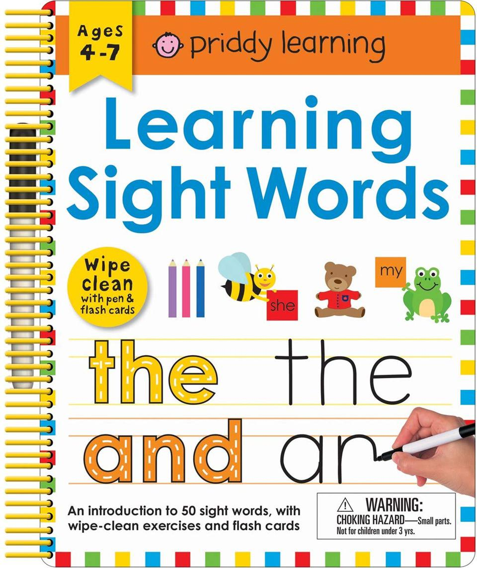 Priddy Learning Wipe Clean: Learning Sight Words