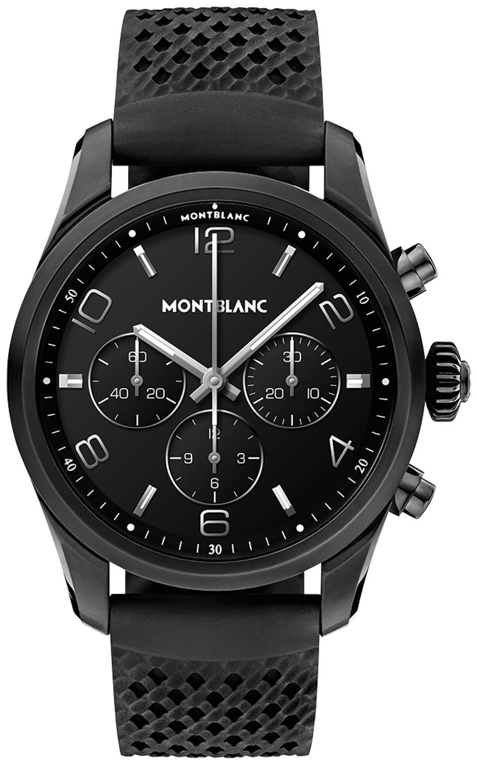 The Montblanc Summit 2+ Smartwatch .