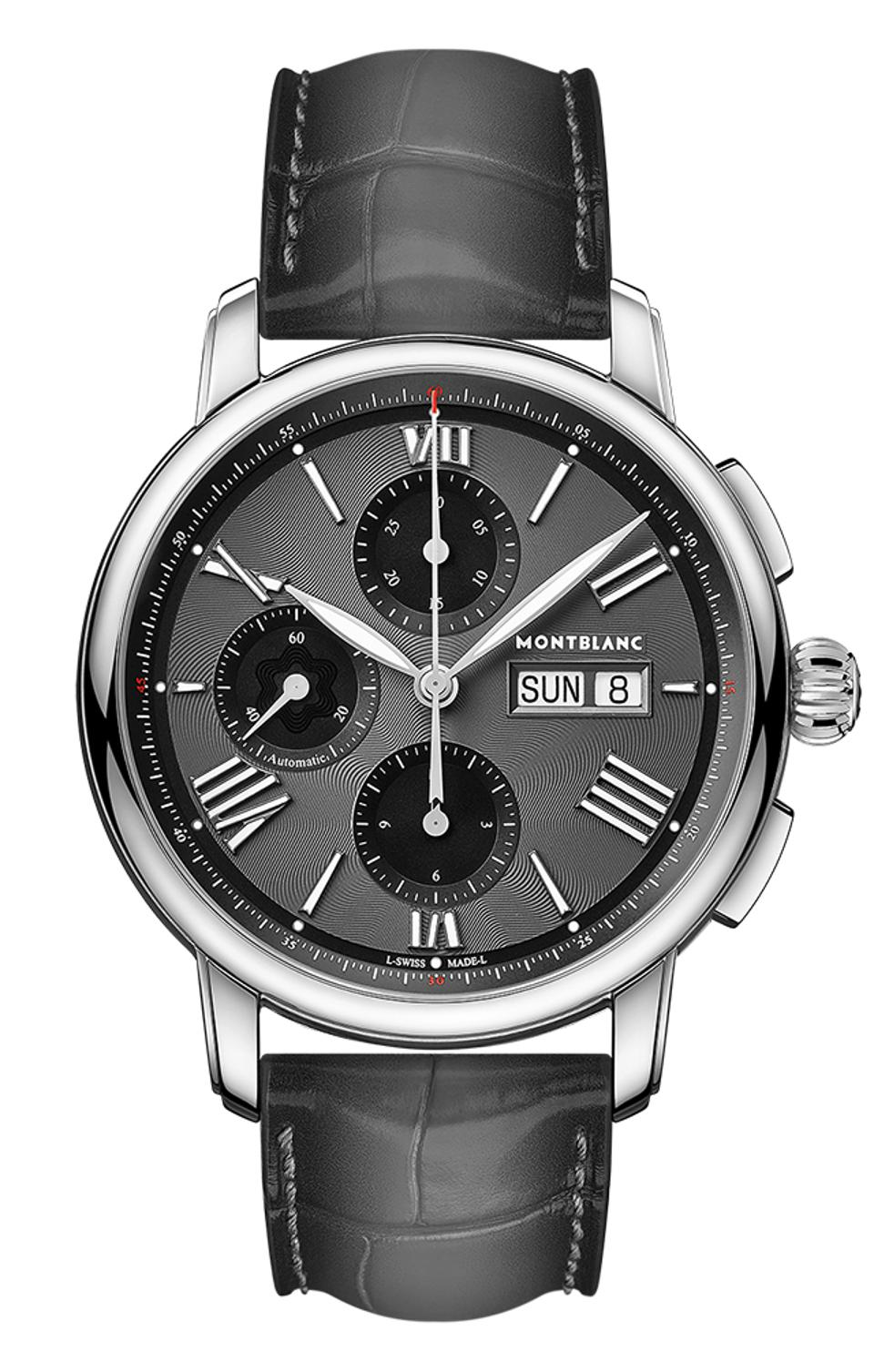 The Montblanc Star Legacy Chronograph Day Date.