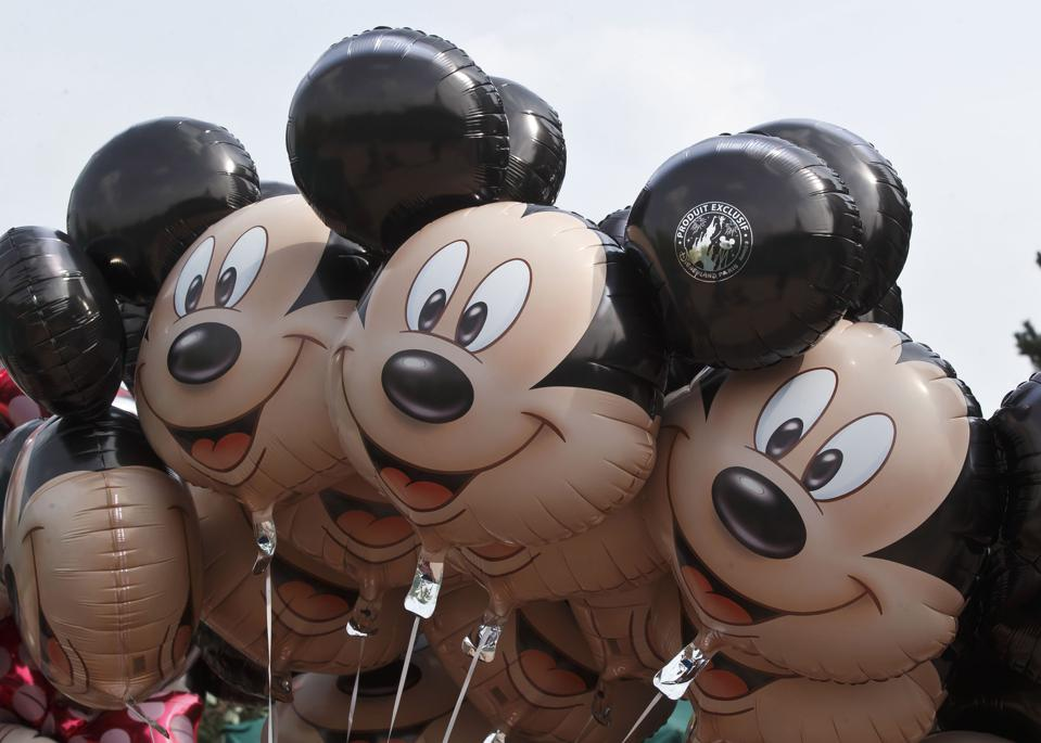 Balloons of Mickey Mouse