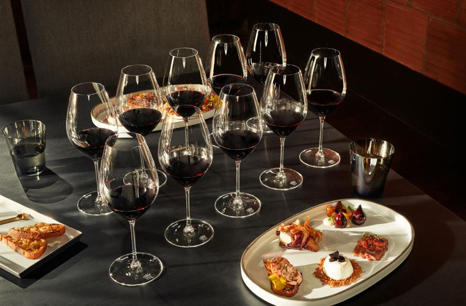 beauty trends 'Heritage room experience' tasting at Louis M. Martini winery