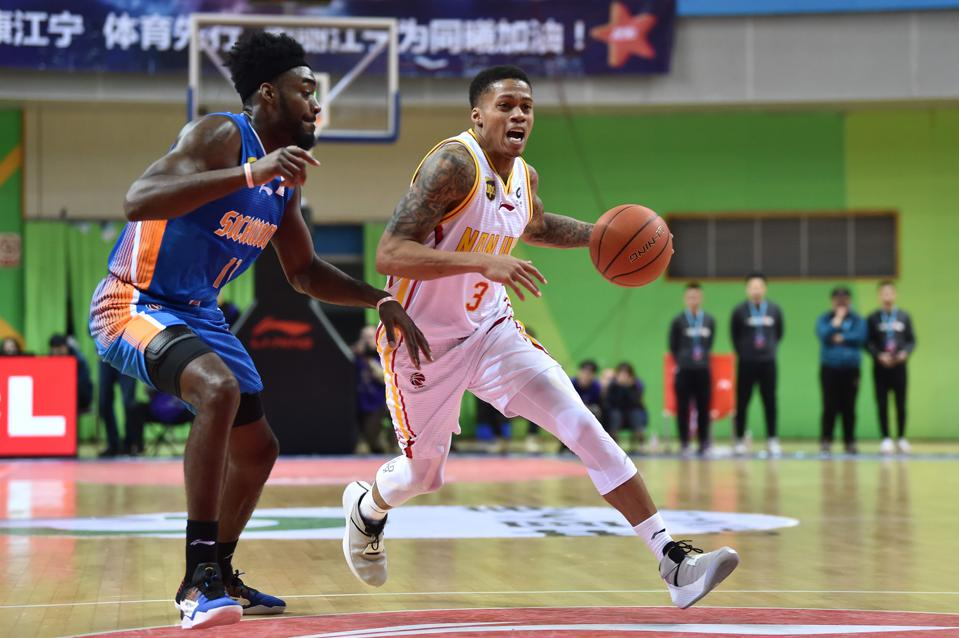 Chinese Basketball Association (CBA) League 2018/2019 17th Round - Nanjing Monkey King v Sichuan Blue Whales