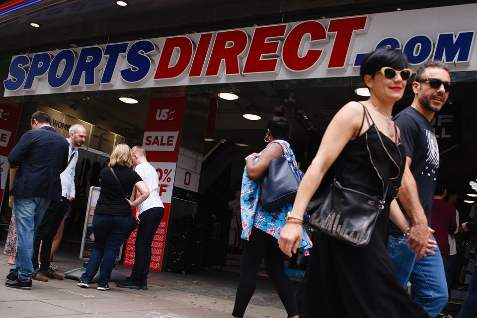 Retail Sales In London