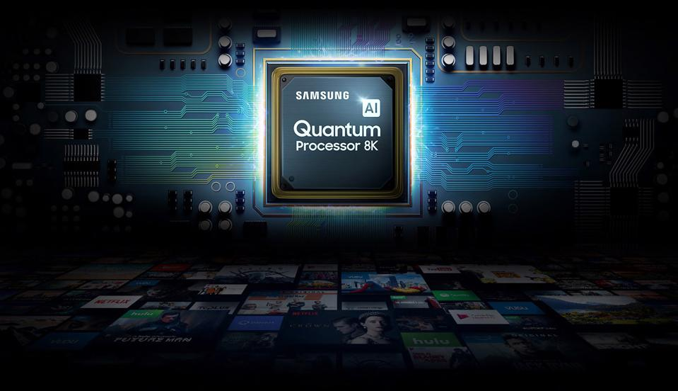 The Samsung 75Q900S/75Q950TS 8K processor