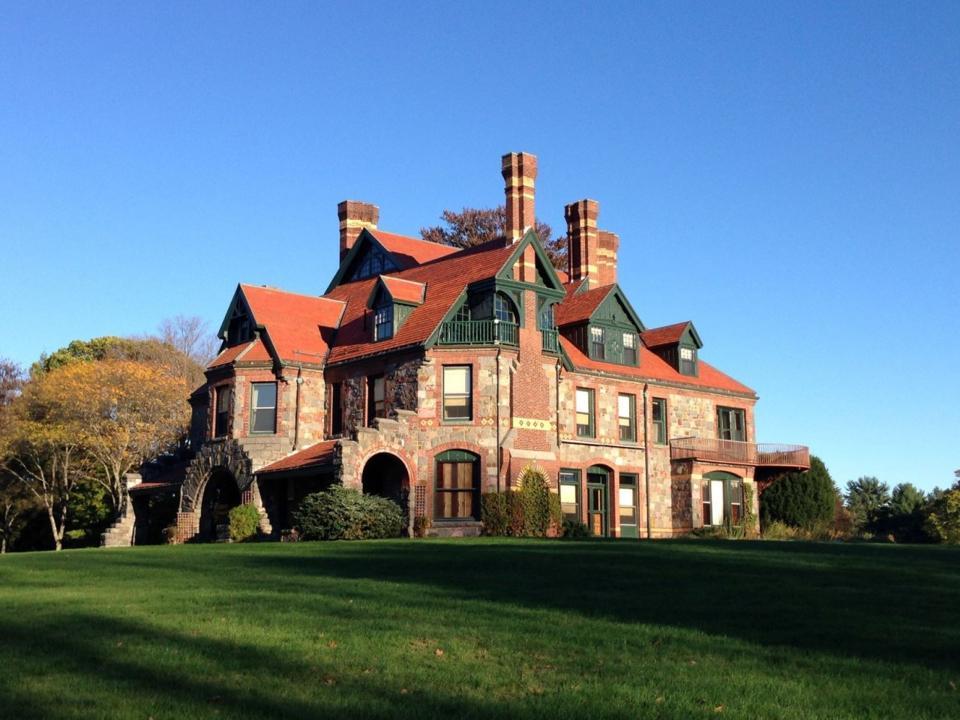 The Eustis Estate in Milton, Massachusetts