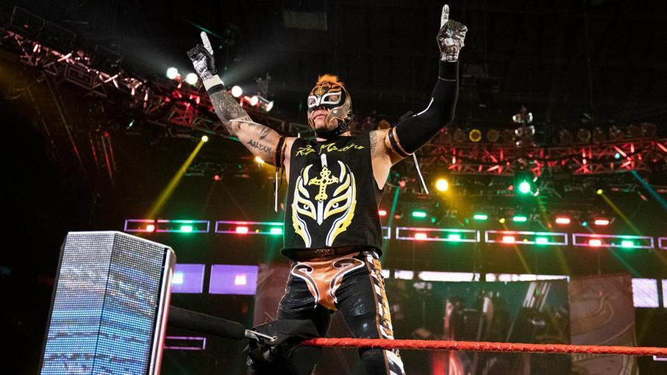 WWE Rey Mysterio Dana Brooke Coronavirus COVID-19 Raw WrestleMania 36