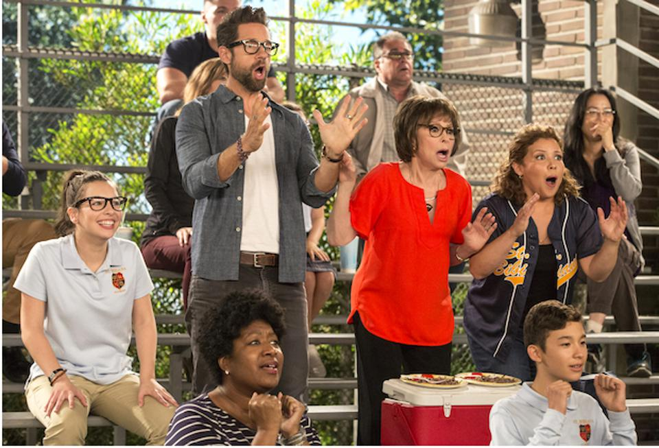 Todd Grinnell, Rita Moreno, and Justina Murchado star in ″One Day at a Time.″