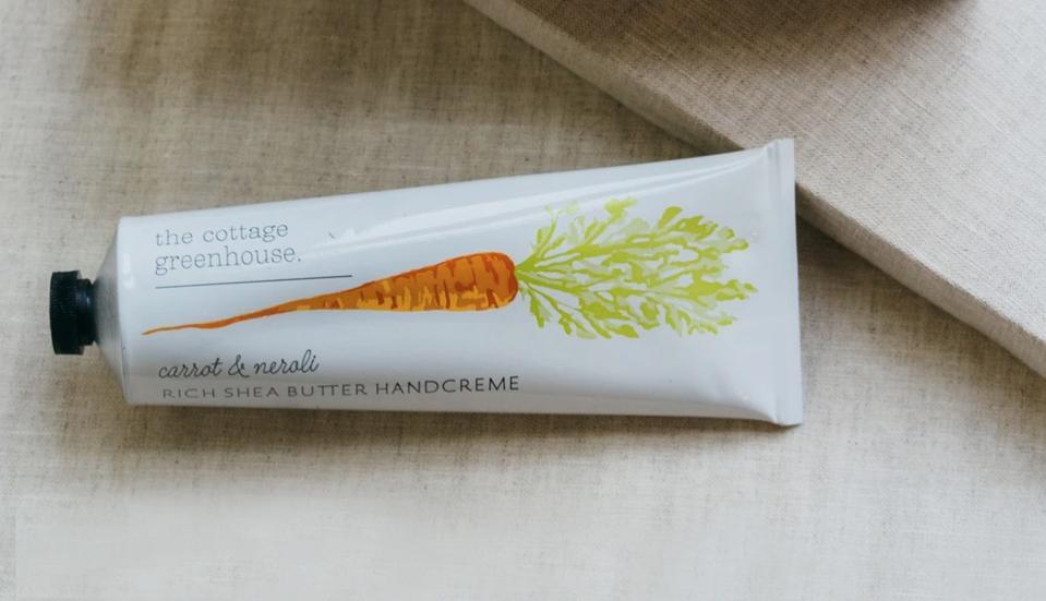 The Cottage Greenhouse Carrot & Neroli Handcreme from Margot Elena