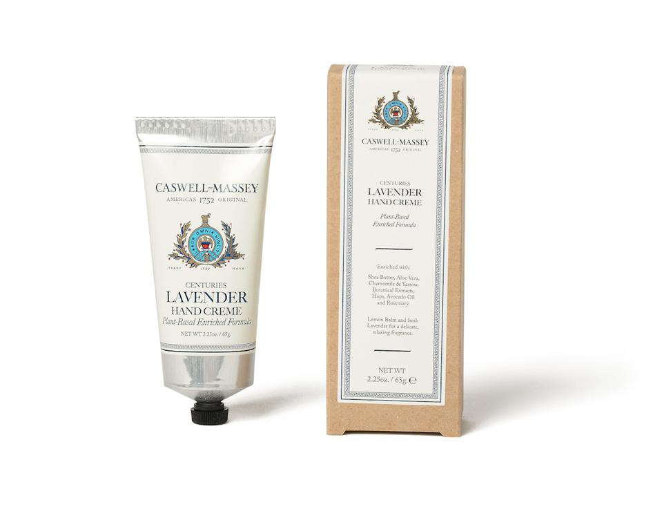 Centuries Lavender Hand Crème from Caswell-Massey