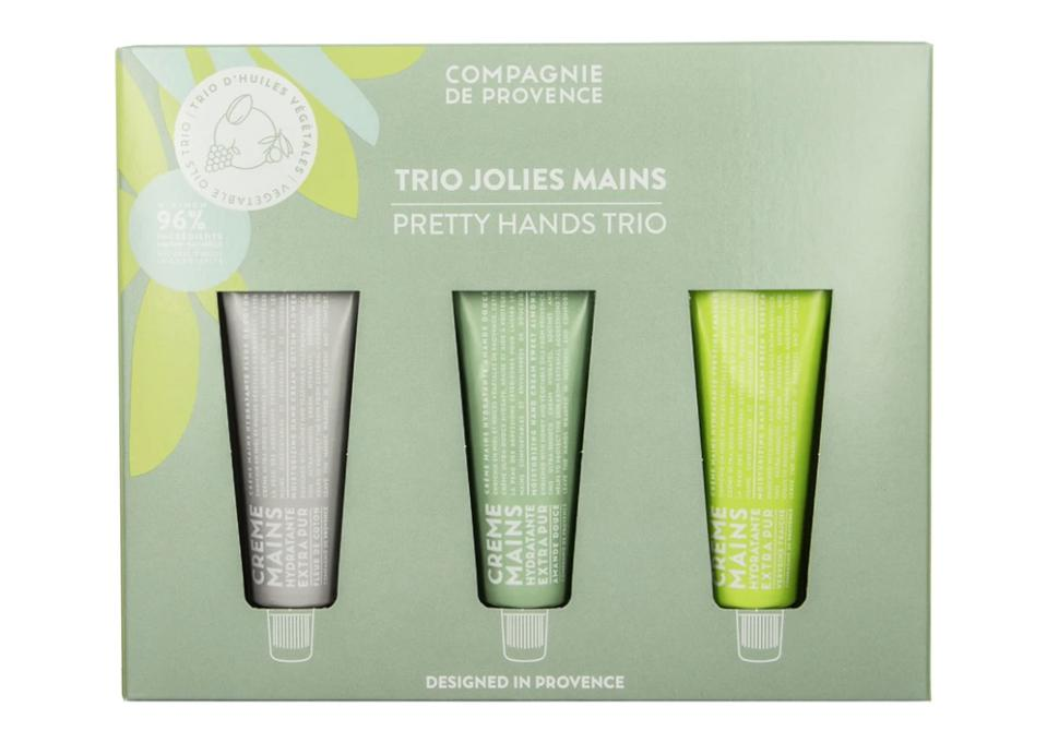 Compagnie de Provence Travel Hand Cream Trio Set from Cie Luxe
