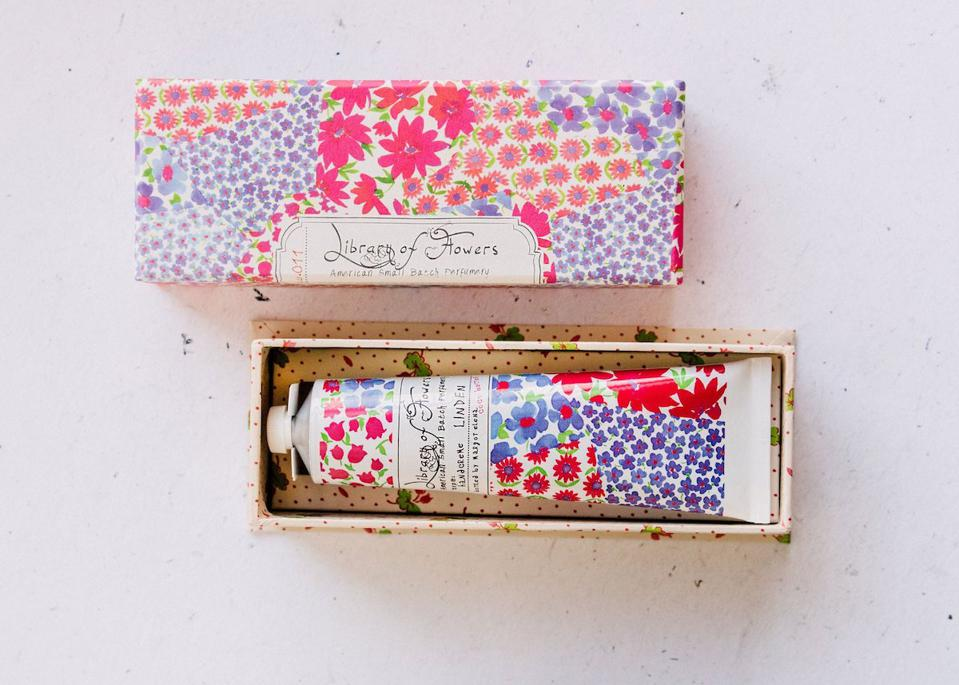 Library of Flowers Linden Handcreme from Margot Elena