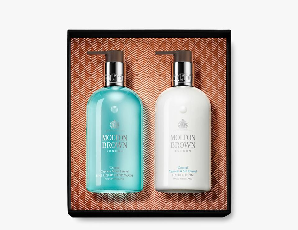 Molton Brown Coastal Cypress and Sea Fennel Hand Collection from Olivela