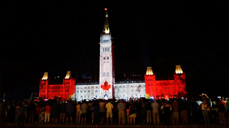Sound and Light show Parliament Hill coronavirus things to do in Ottawa virtually