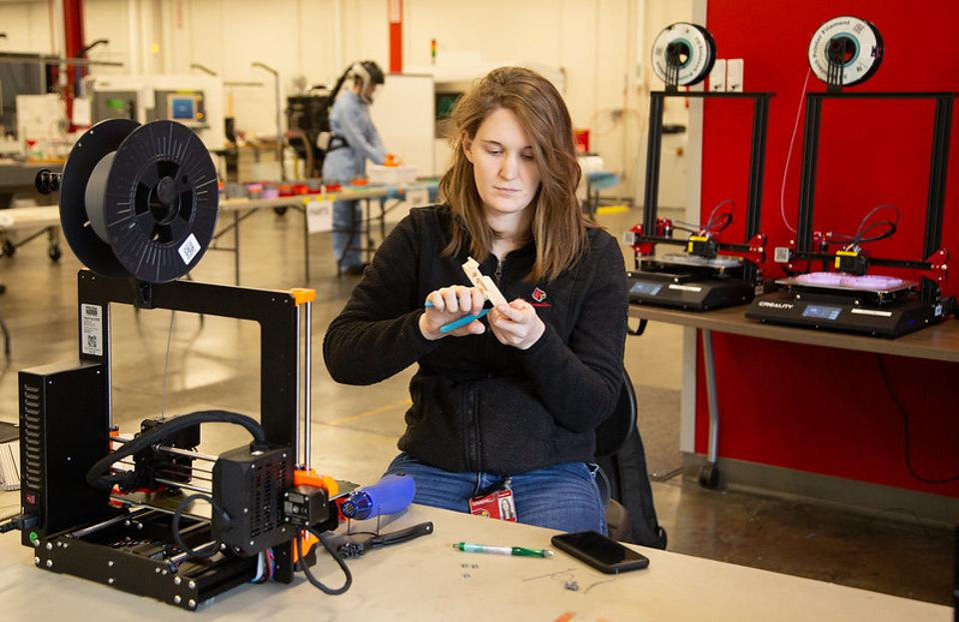 UofL AMIST 3D Printing Face Shield Parts