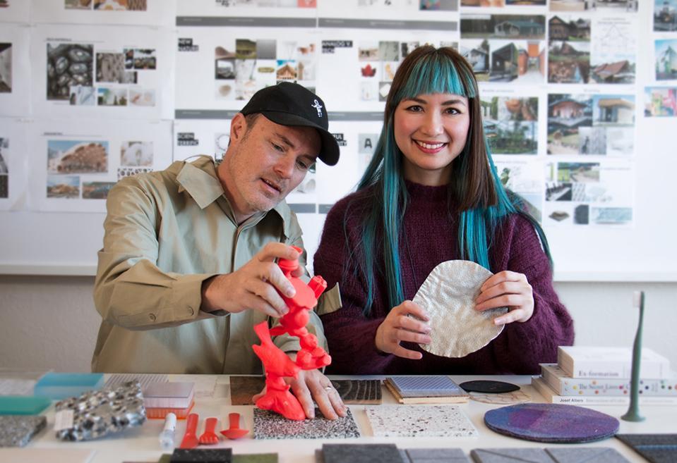 Phnam and Mardis Bagley in their San Francisco industrial design studio, Nonfiction
