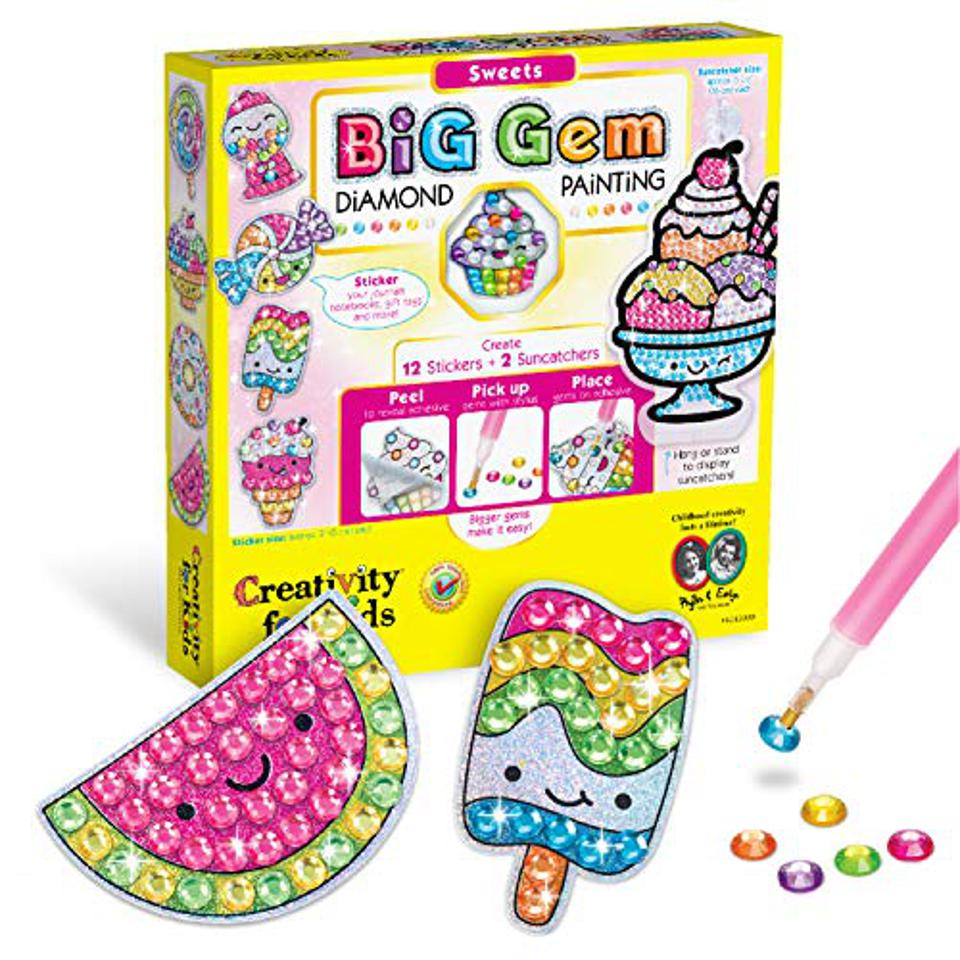 Creativity for Kids Big Gem Diamond Painting Kit