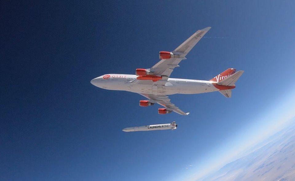 Virgin Orbit test flight