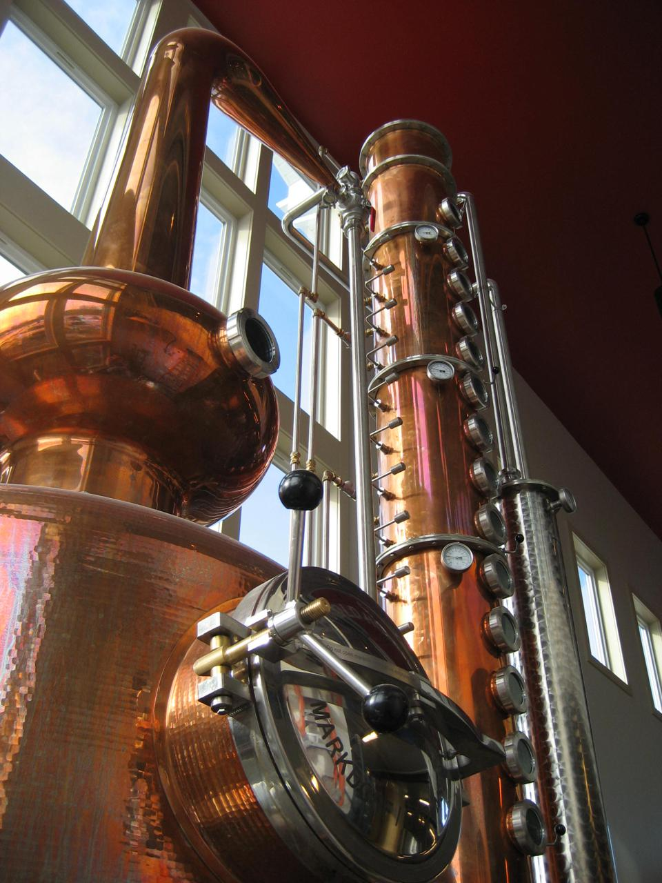 Finger Lakes Distilling still