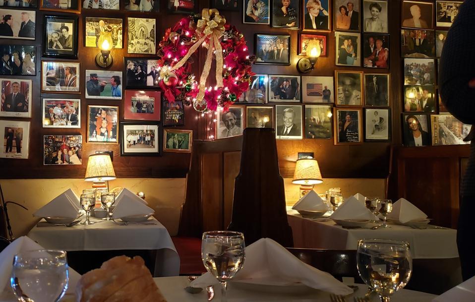 Rao's, Cosme, Carbone, L'Atelier de Joel Robuchon, Lucali, Peter Luger Steakhouse, New York Restaurants