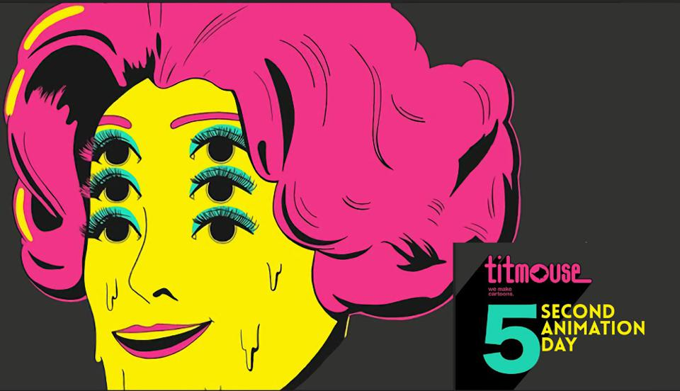 Titmouse 5 Second Animation Day poster