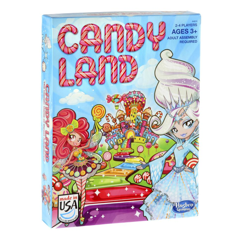 Hasbro Candy Land Classic Family Kids Fun Adventure Strategy Board Game Ages 3+
