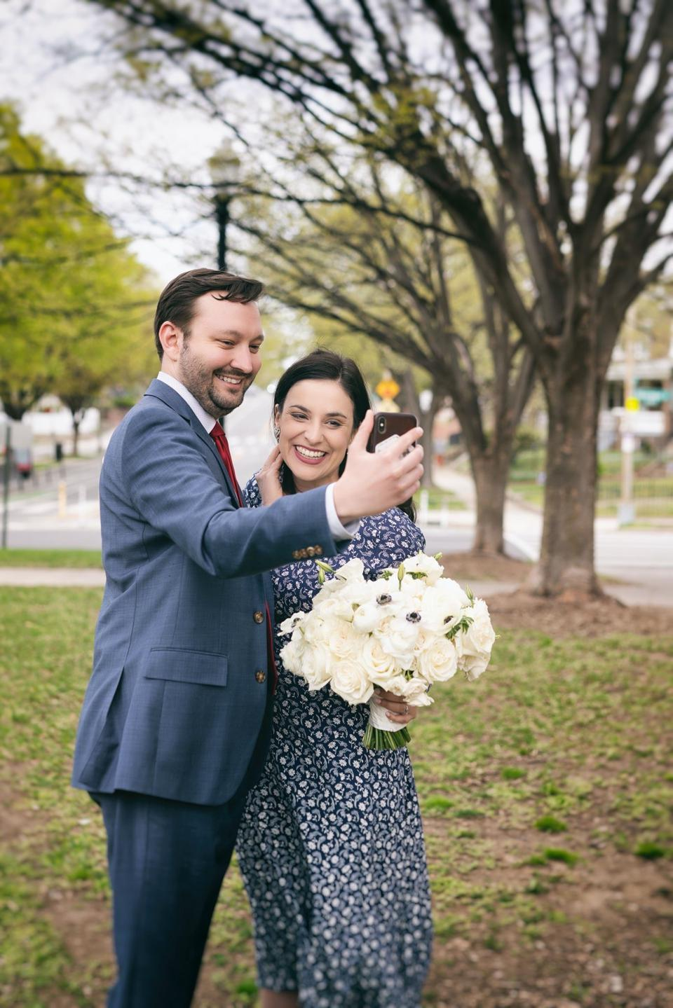 Weddings In The Age Of Coronavirus: Couples FaceTime With Rabbi, Avatar Nuptials And More
