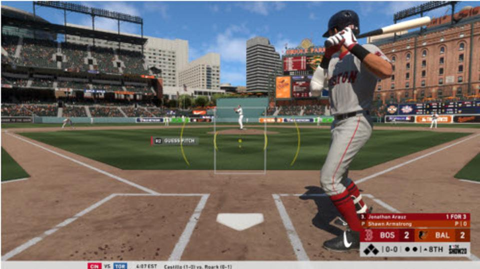 PCI in MLB The Show 20