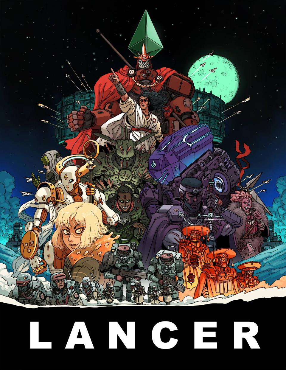 The cover to the Lancer RPG