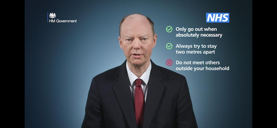 The U.K. Government Covid-19 medical advice