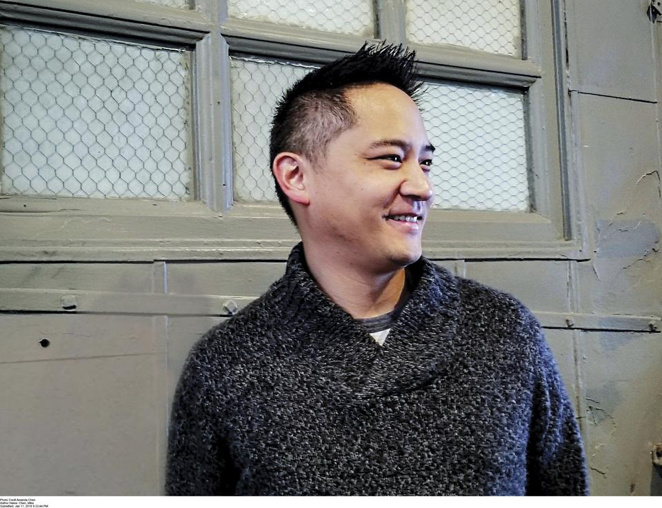 mike chen author pandemic novel a beginning at the end novelist