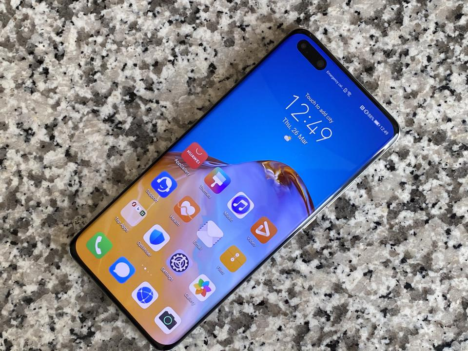 The new Huawei P40 Pro revealed