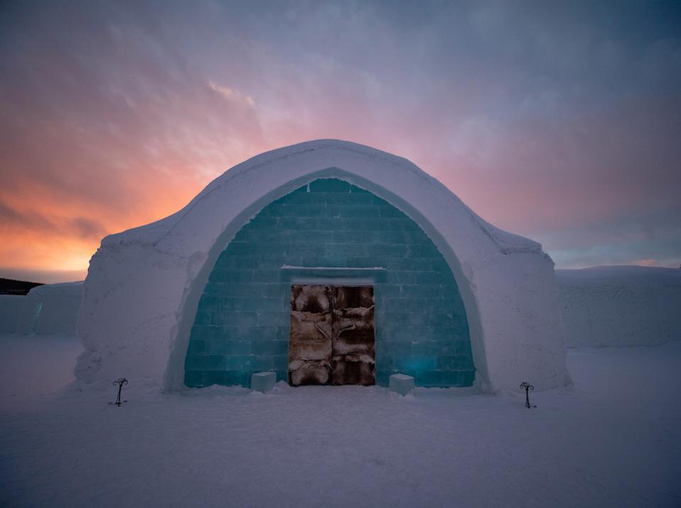 Swedish Lapland's Icehotel