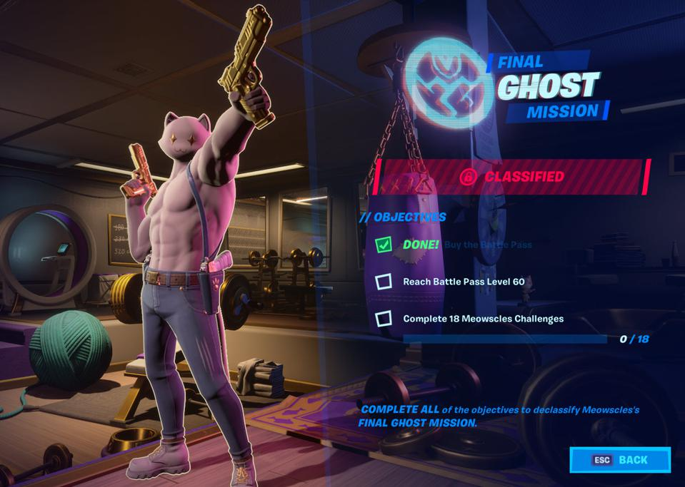 Fortnite Meowscles Ghost Loyalty Mission Where To Deliver Fish