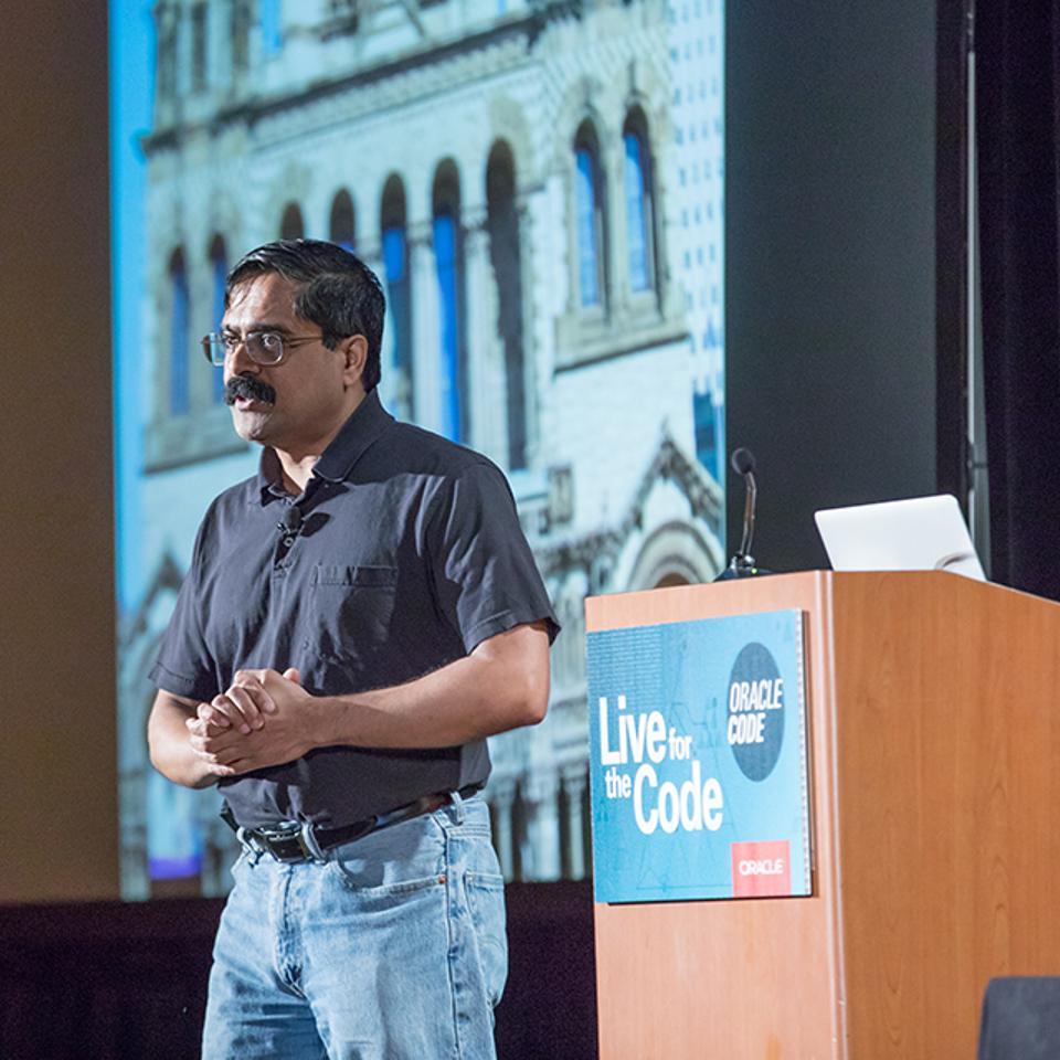 Venkat Subramaniam, award-winning author and founder of Agile Developer.