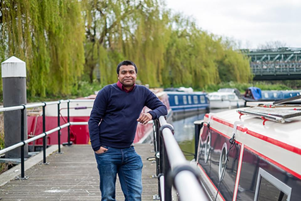 London-based Java Champion Mani Sarkar,